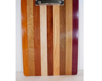 Wooden Clipboard, Wood Note Pad, Unique Office Gift (#222)