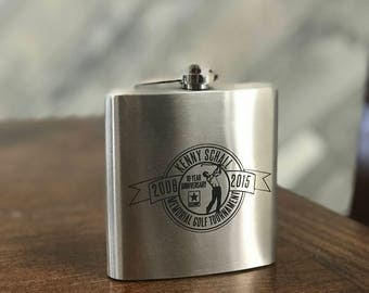 Custom Stainless Steel Flask