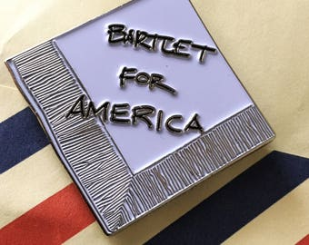 Bartlet For America Lapel Pin