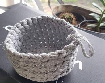 Mini Basket - crochet