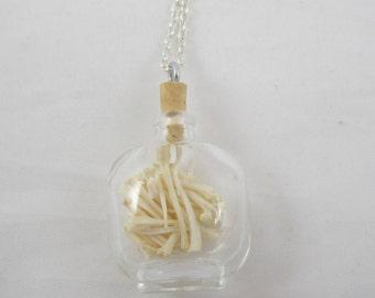 Jar of Bones Pendant Necklace