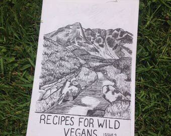 Recipes for Wild Vegans- Issue 2