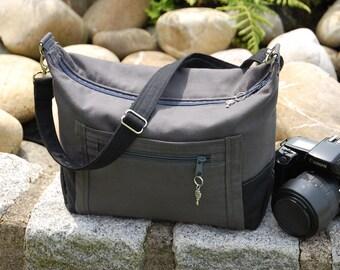 Camera bag for small DSLR, bridge cameras