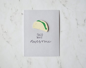 Taco 'bout Awesome Card