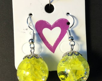 Shattered Glass Marble Earrings