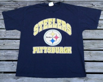 Vintage 1996 Pittsburgh Steelers t-shirt Made in USA by Lee Sport XL