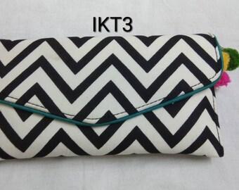 Ikkat   pouches   wallets   clutch   envelope clutch   handbag   purse