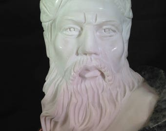 Grand Tour Italian Two Color Marble Bust of a Man