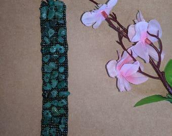 Beaded handmade bracelet.
