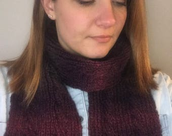 Serenade Cable Knit Scarf