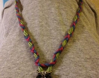 Owl hoot for you necklace