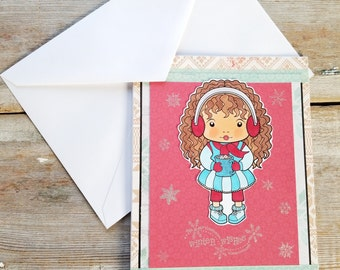 Winter Wishes Card - Winter Holiday Cards - Christmas Wishes Card - Winter Greeting Cards - Winter Christmas Card - Wishes Cards