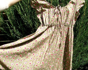 vintage dress, cotton dress, sleeveless dress, womens dresses, casual dress, ladies dresses, summer dresses, women dress, ladies clothing