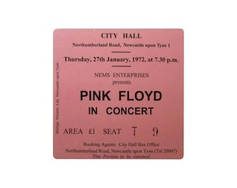 Coaster. Pink Floyd. Newcastle City Hall. Newcastle