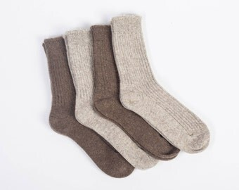 Yak wool socks