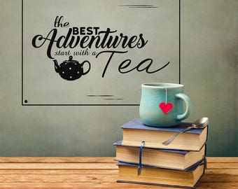 Tea Adventure Wall Sticker