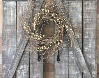 FarmHouse wall shutters/barndoor style