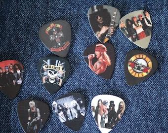 Guns N' Roses Guitar Pick Pins