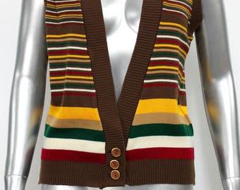 Vintage 1950s Bradley Knit Vest