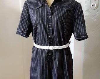 50s style sporty dress large size