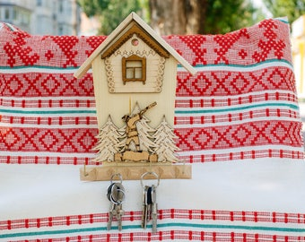 wall key holder, Key Hanger, Wall Key Rack, Wall Key Holder, Key Holders, Personalized Gift, Home, Housewarming Gift, Wedding Gift