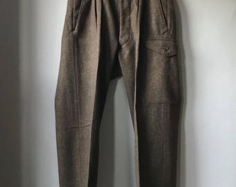 Vintage French Military Trousers 1949 Pattern