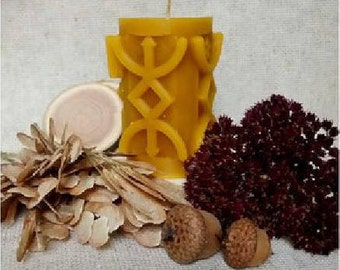 """Runic Candle """"Cleansing"""""""