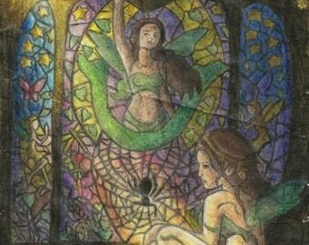 Stainglass Fairy