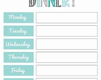 Dinner,  Plans, Meal prep, Magnet, Refrigerator, Family organization, Kitchen organization, Kitchen decor - Cute!