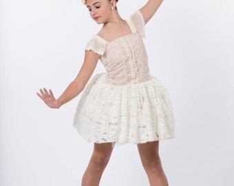 Beautiful Flower Girl, Dance Costume, Special Occasion Dress