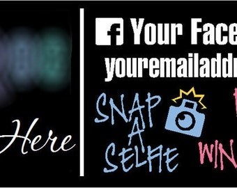 Fashion Consultant Vehicle Decal Snap-A-Selfie Side by Side - LLR - Customizable - Vinyl Graphic