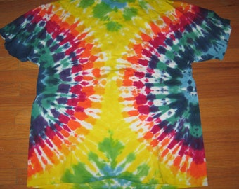 Tie Dye T-shirt Front and Back Vintage New X-Large