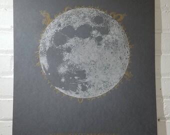 Solar Eclipse Print - 18X24