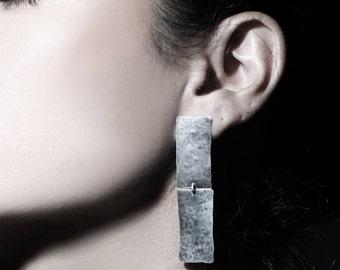 Bridal earrings, bridal silver earrings, statement bridal earrings, bridesmaids earrings, dangling bridal earrings, evening jewelry,