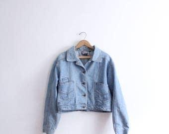 Light Wash 90s Denim Jacket