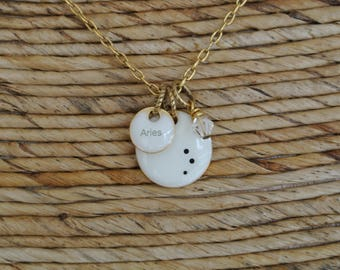 Constellation Necklace // Zodiac Necklace // Birthday Necklace // Astrology Necklace // Birthday Gift // Birthday Necklace