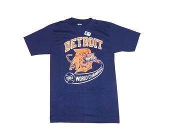 Vintage 1984 Detroit Tigers World Series T-shirt