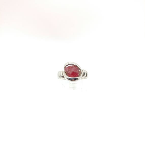 """Raw Spinel Ring 