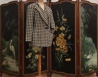 Luxury: Emmanuelle Khanh wool jacket