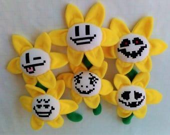 11 Inch Flowey The Flower Plush