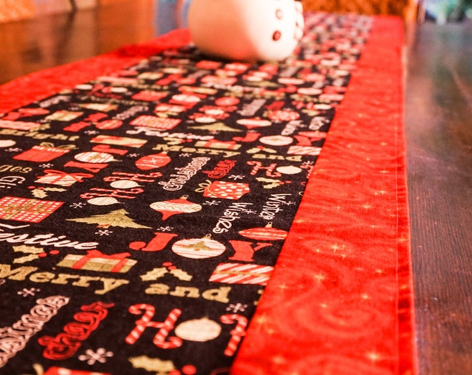 Farmhouse Christmas Decor-Christmas Table Runner-Christmas Decorations-Holiday Decor-Modern Christmas Decor-Xmas Decor-Christmas Gift