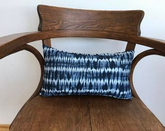 Shibori Style Decorative Pillow / Insert Included