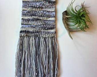 """Woven Wall Hanging """"In the Clouds"""""""