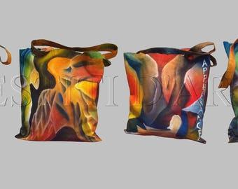 HANDMADE PAINTED BAG art lovers gifts for her bags boho purses handbags crossbody bags fabric tote canvas shoulder bags art top handle bags