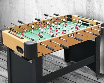 Bohemian & eclectic  Foosball Table