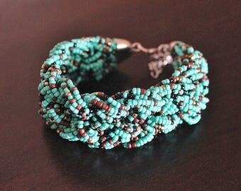 Mint Chocolate Bracelet