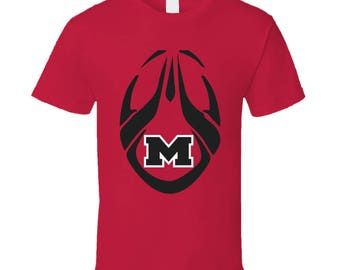 Rams Football With M T Shirt