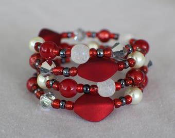 Mary- Coil Bracelet