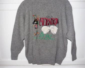 FC COLLECTION sweater size 38-40 FR (M) - 1980s