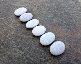 Big Stones, Big Pebbles, Oval Beach Pebbles, Large Beach Stones, Flat Oval Stones, Flat Sea Stones